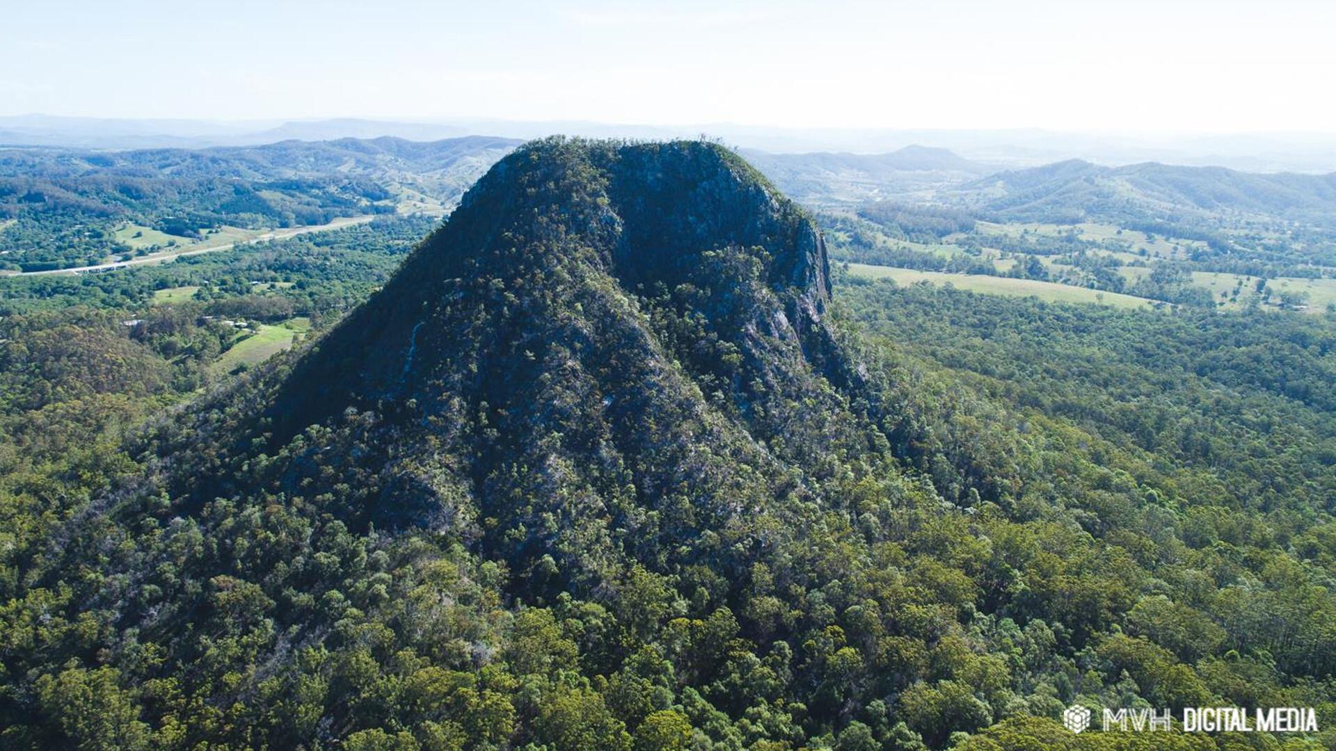 Caine lanigan mount cooroora aerial view