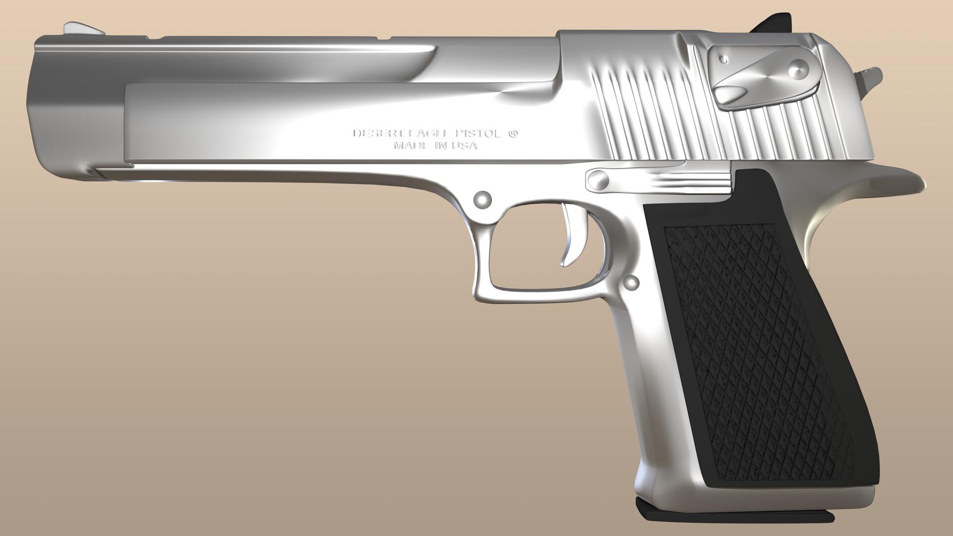 Side render of model