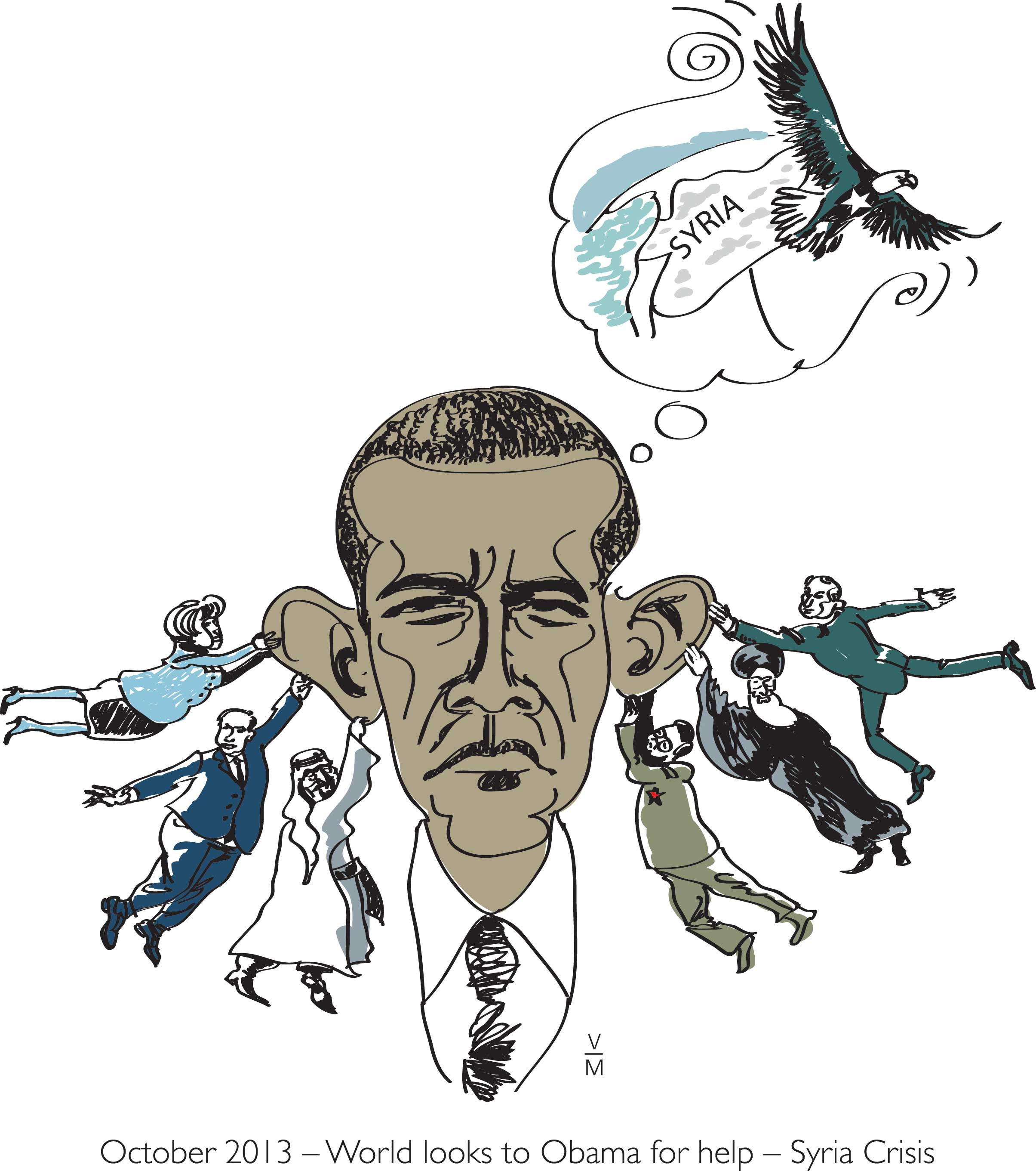World looks to Obama for help