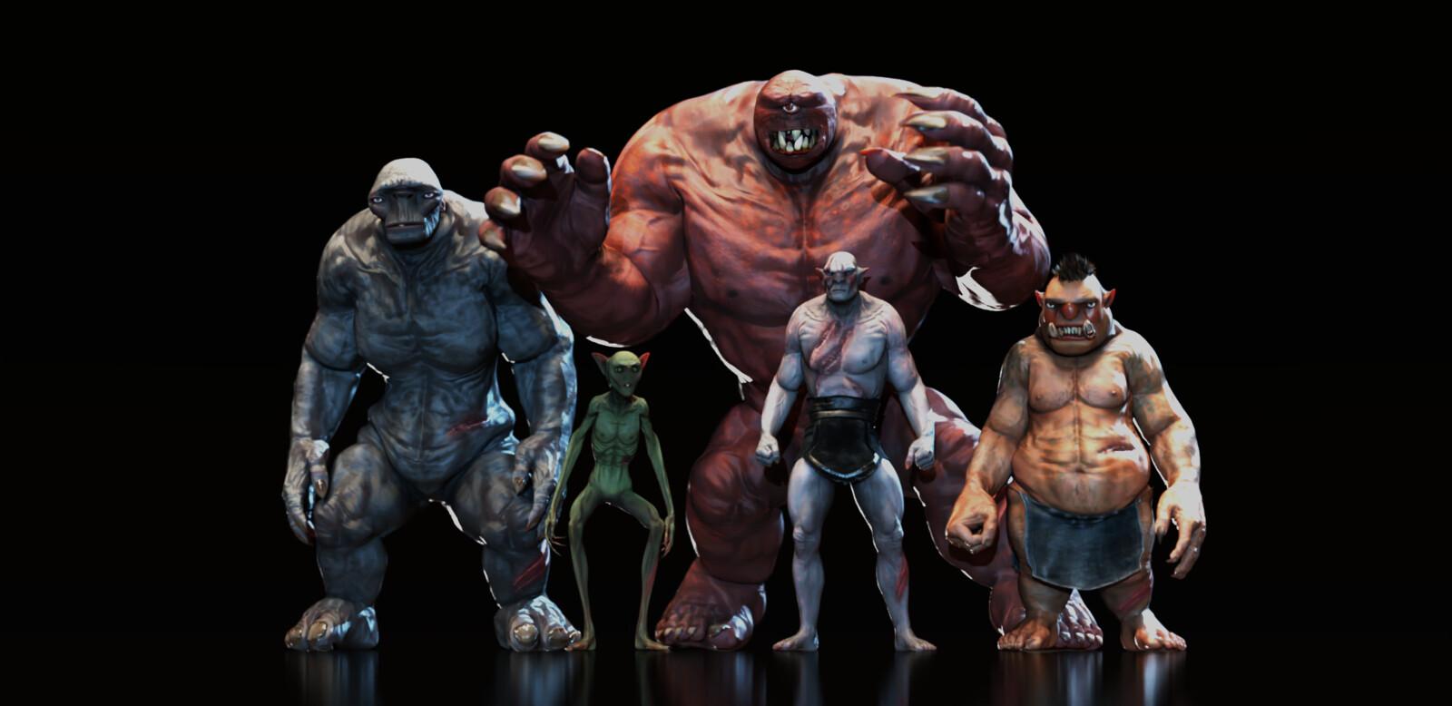 CC Creatures Pack
