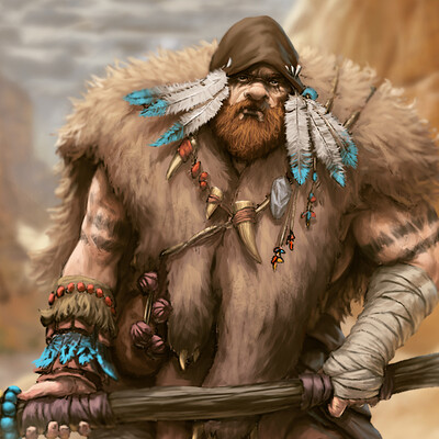 Giuseppe de iure neanderthal caveman dig