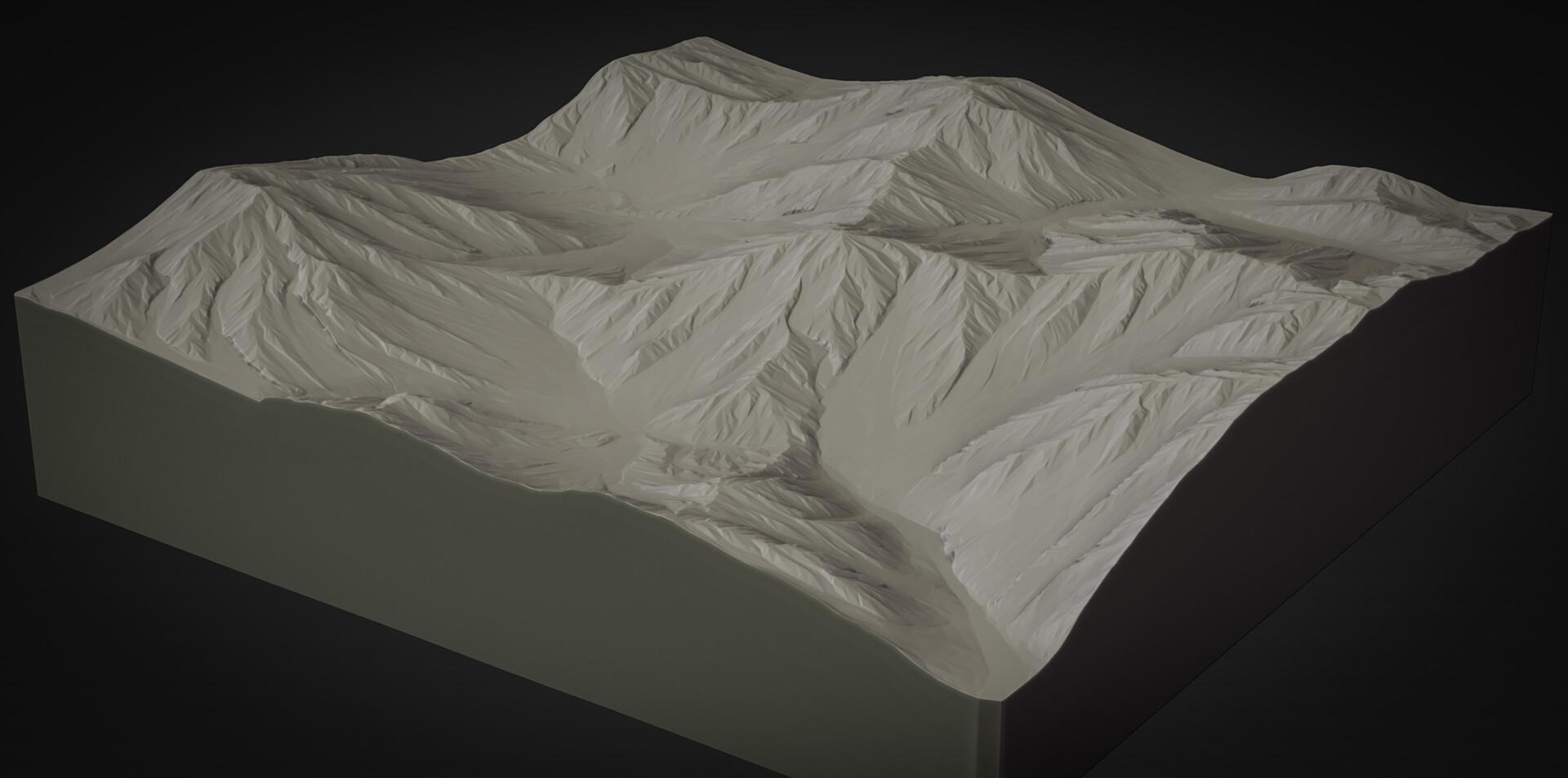 Martin teichmann terrain zbrush