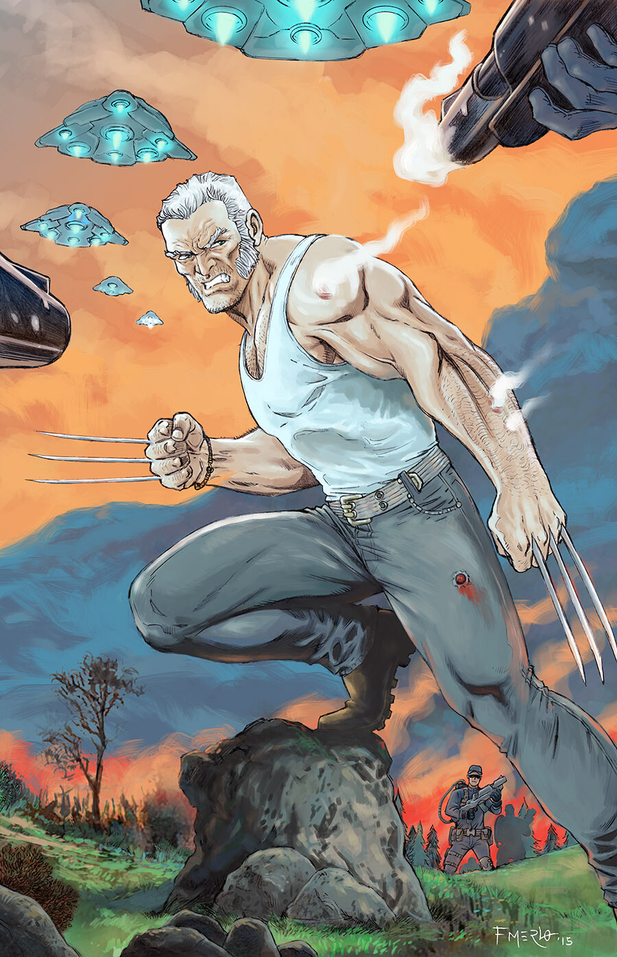Fernando merlo old man logan
