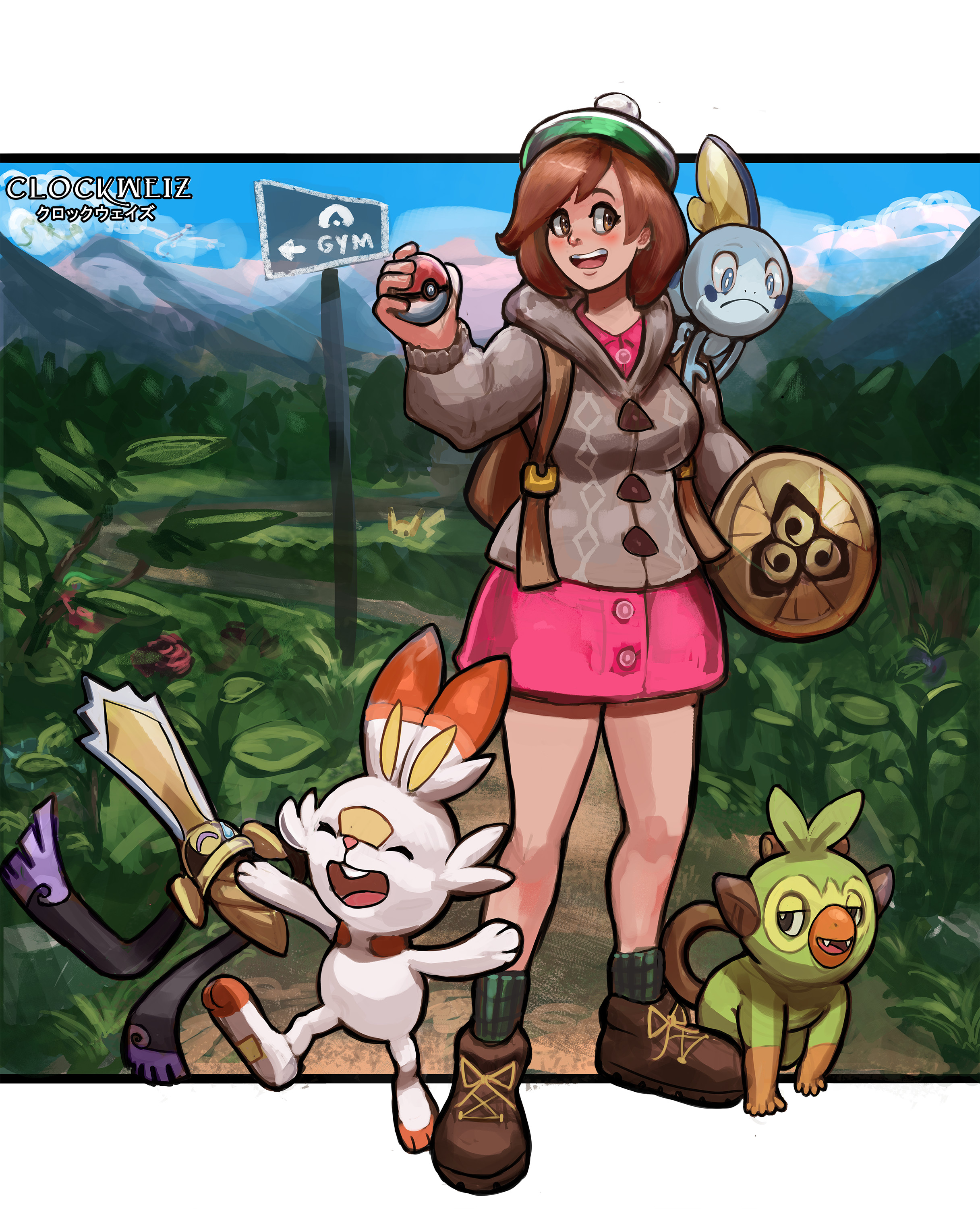 Rembrandt Van Leeuwen Pokemon Sword And Shield Grookey Sobble Scorbunny Sobble is said to be timid monster who tends to hide a lot — so pokémon fans feel defensive of the little guy, often share all sharing options for: rembrandt van leeuwen pokemon sword