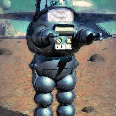 Luca oleastri robby the robot low
