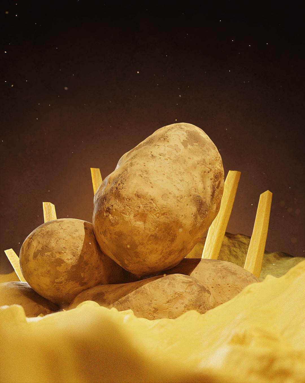 The Mighty Potato King