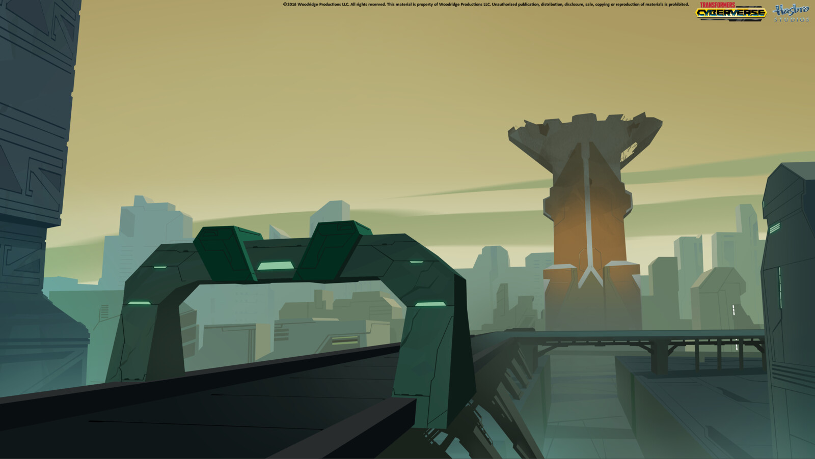 Key background based on a concept by Graham Finnigan. You can check more of Graham's works here: www.artstation.com/gfinn