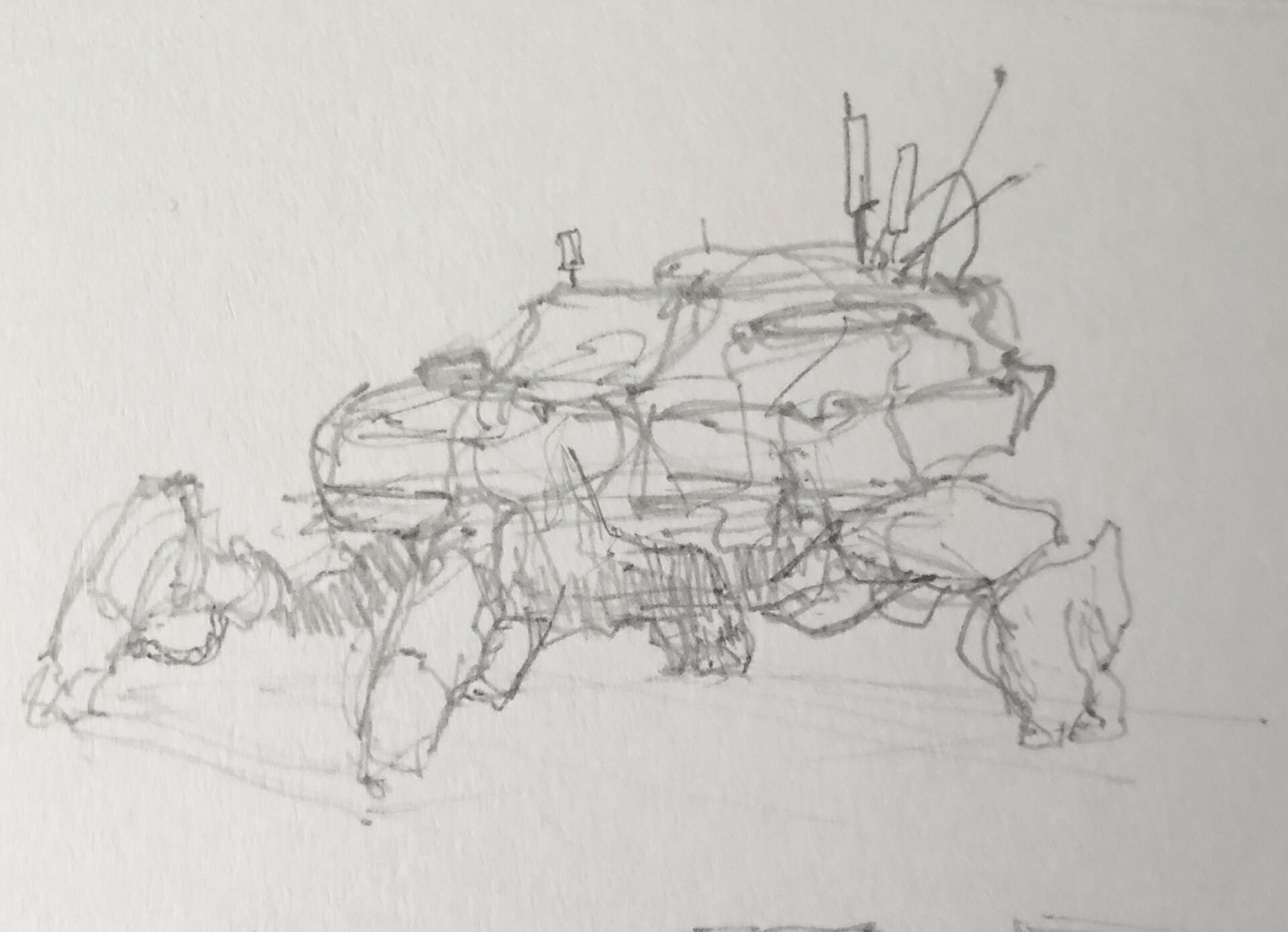 Initial thumbnail sketch
