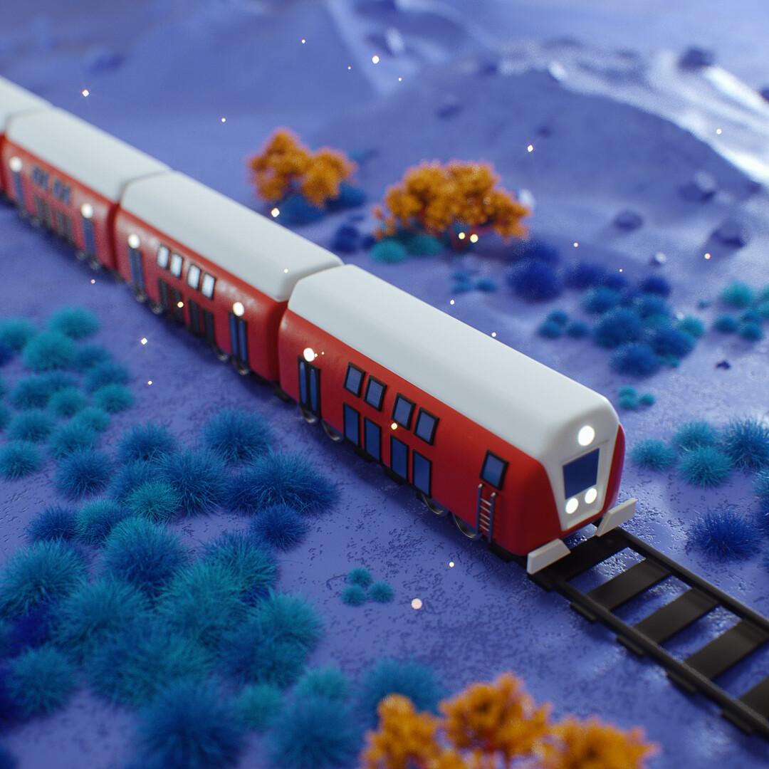 Oren leventar train