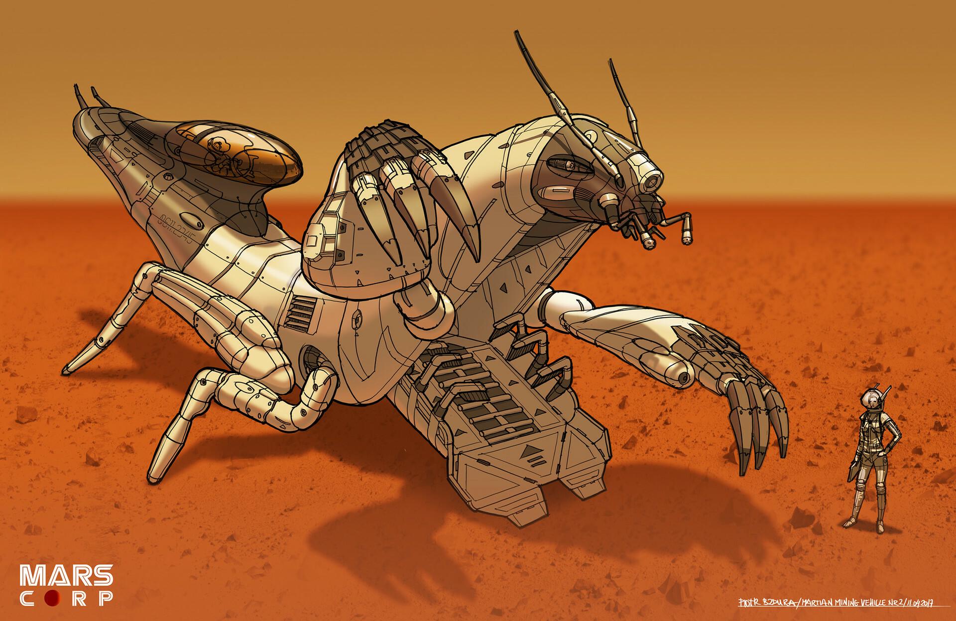 Piotr bzdura piotr bzdura 12042017 spacebug separate03 color 02