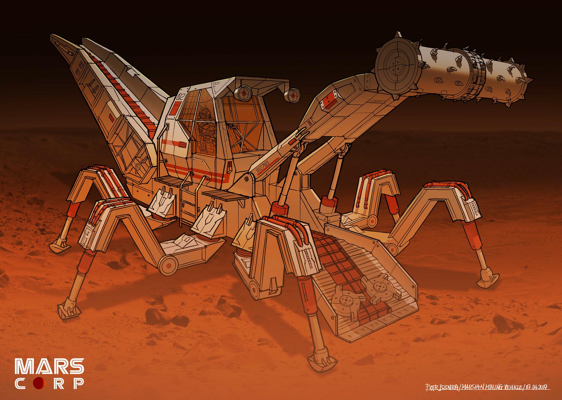 Piotr bzdura piotr bzdura 03042017 spacebug v5 separate ship 1 hl03