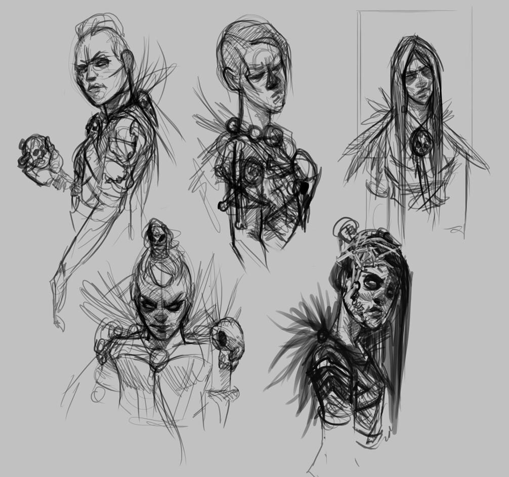Servilia sketches
