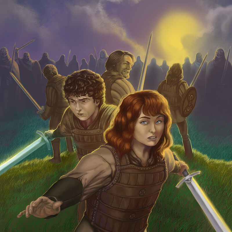 Chronicles of Hibernia Book 3 Cover Illustration