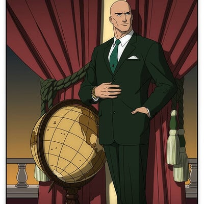 Jerome moore lex luthor portrait