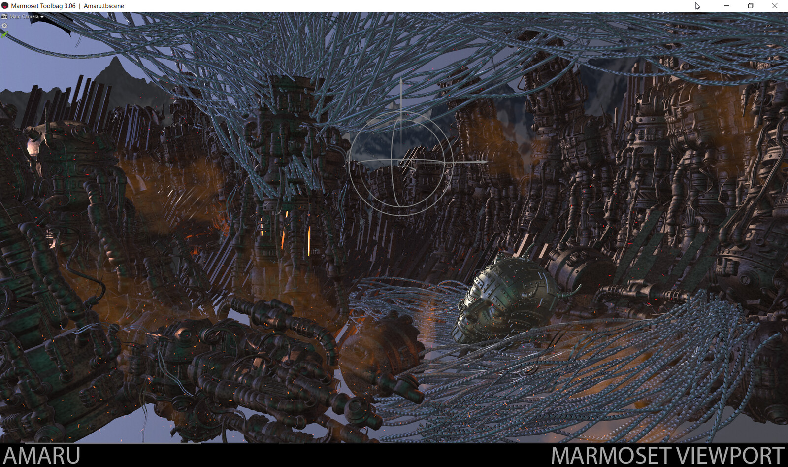 Amaru - The entire scene was put together in Marmoset Toolbag.