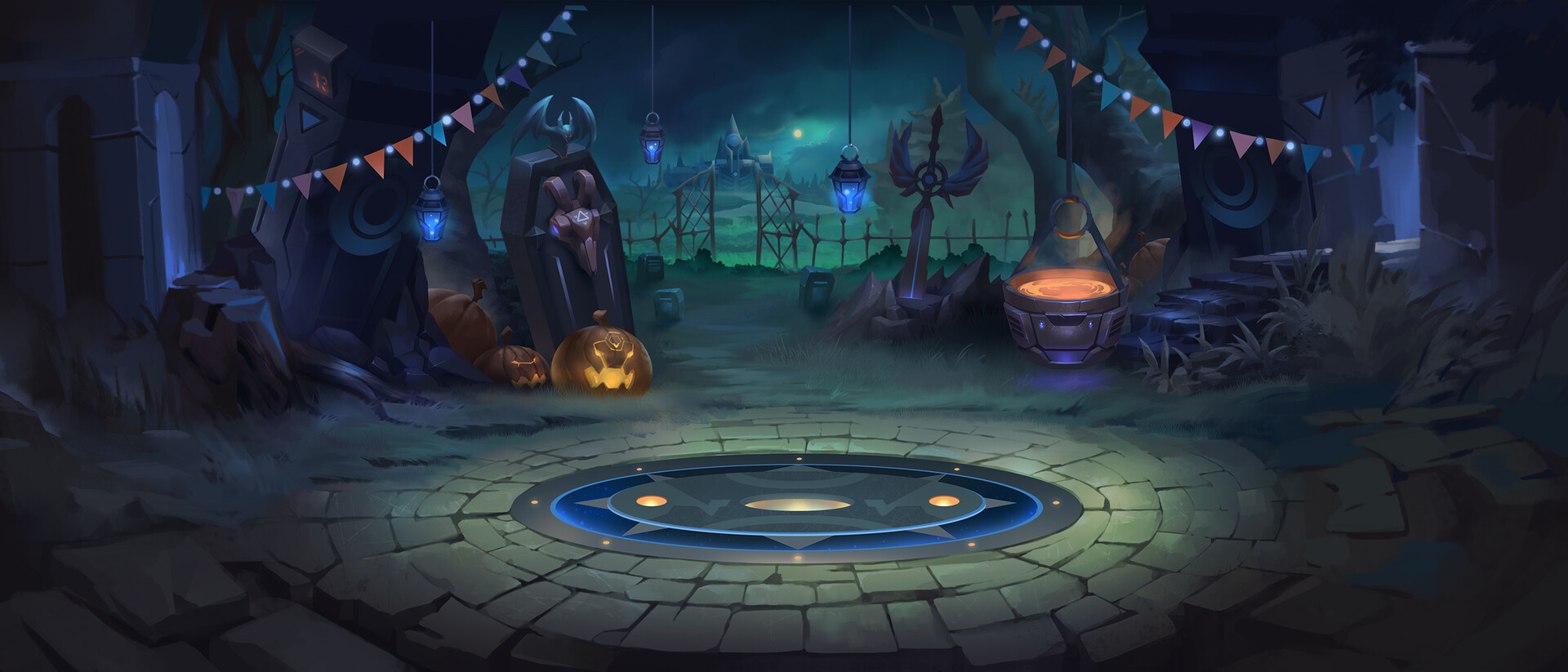 Trung nguyen bg halloween
