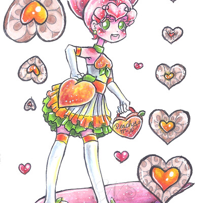 Nasika sakura day 41 march 3 peachy girl small