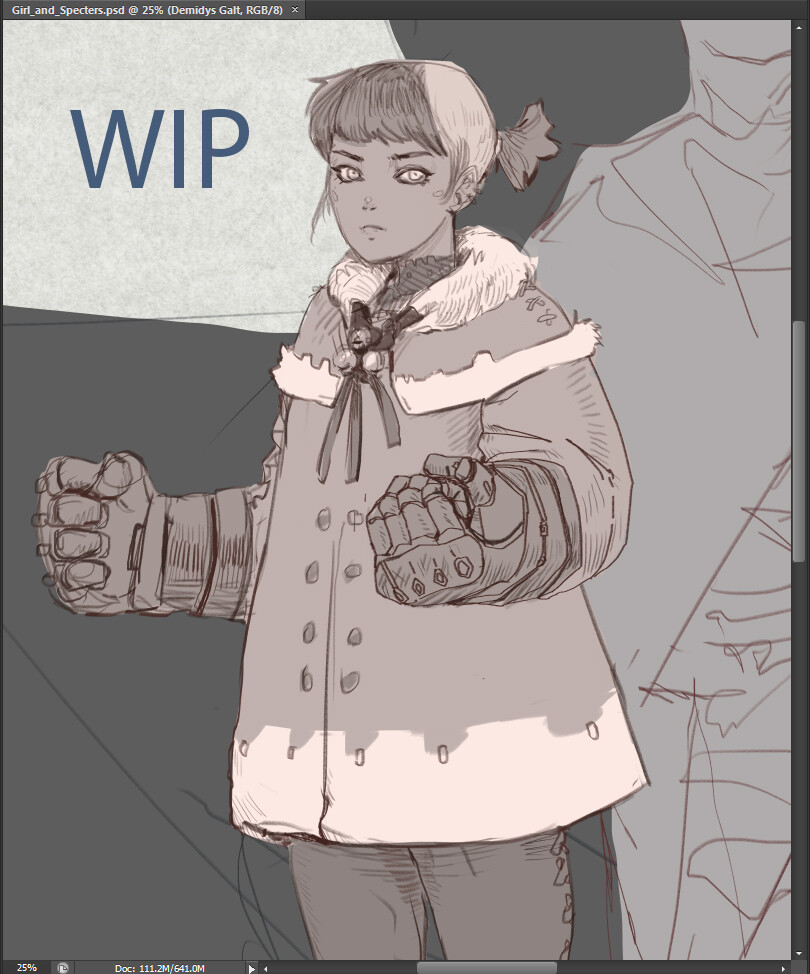 Tones and line work WIP