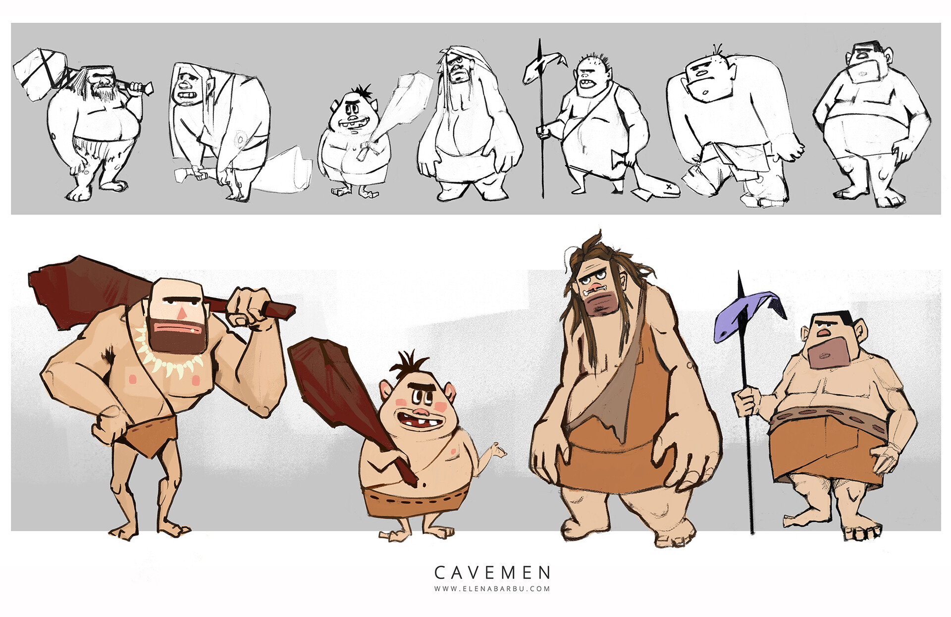 Elena barbu cavemen