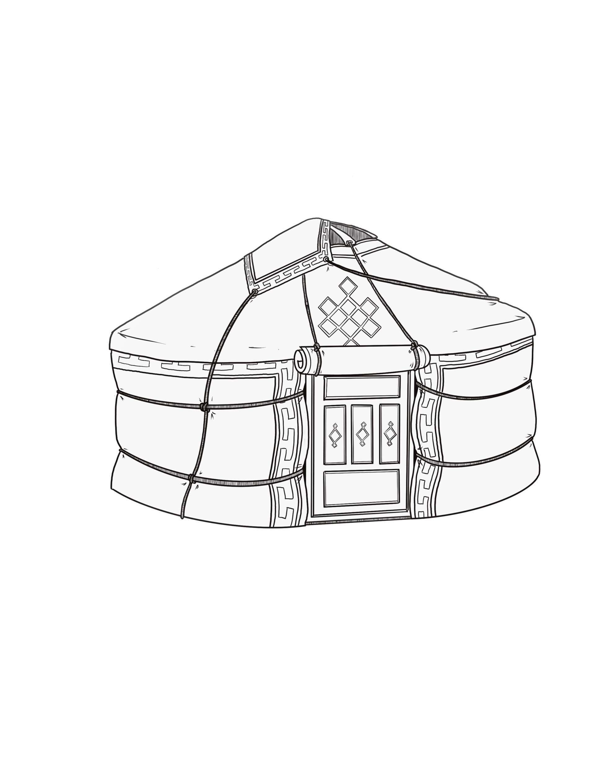 Yurt from Mongolia