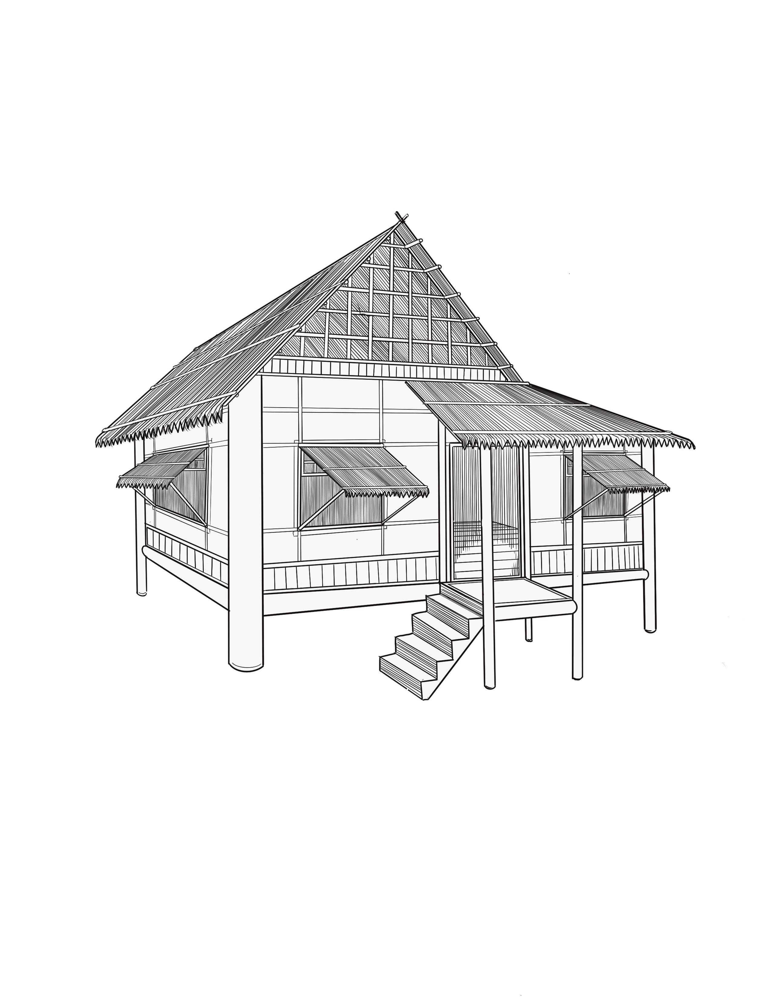 Nipa Hut from the Philippines