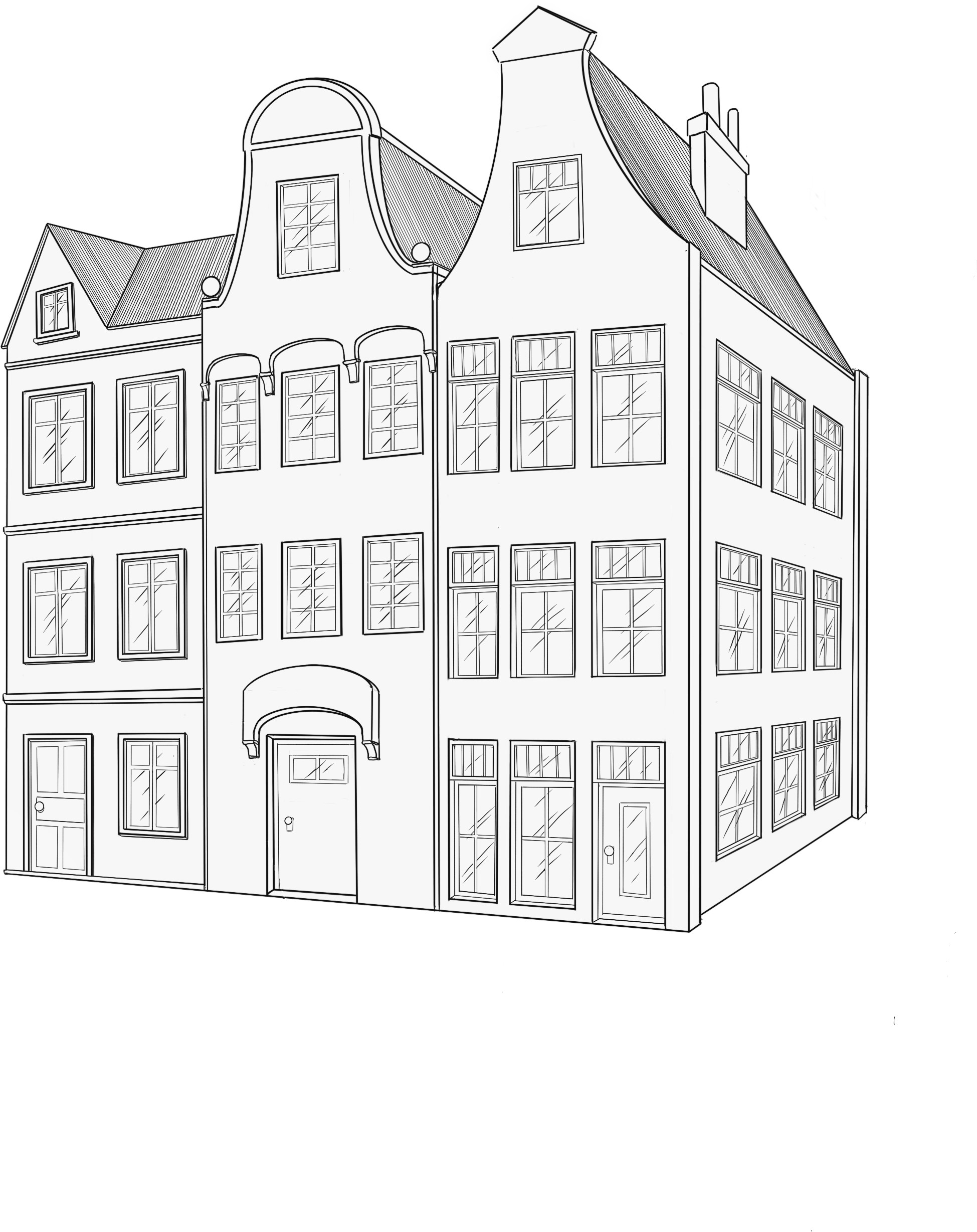 Dutch Row Homes from the Netherlands