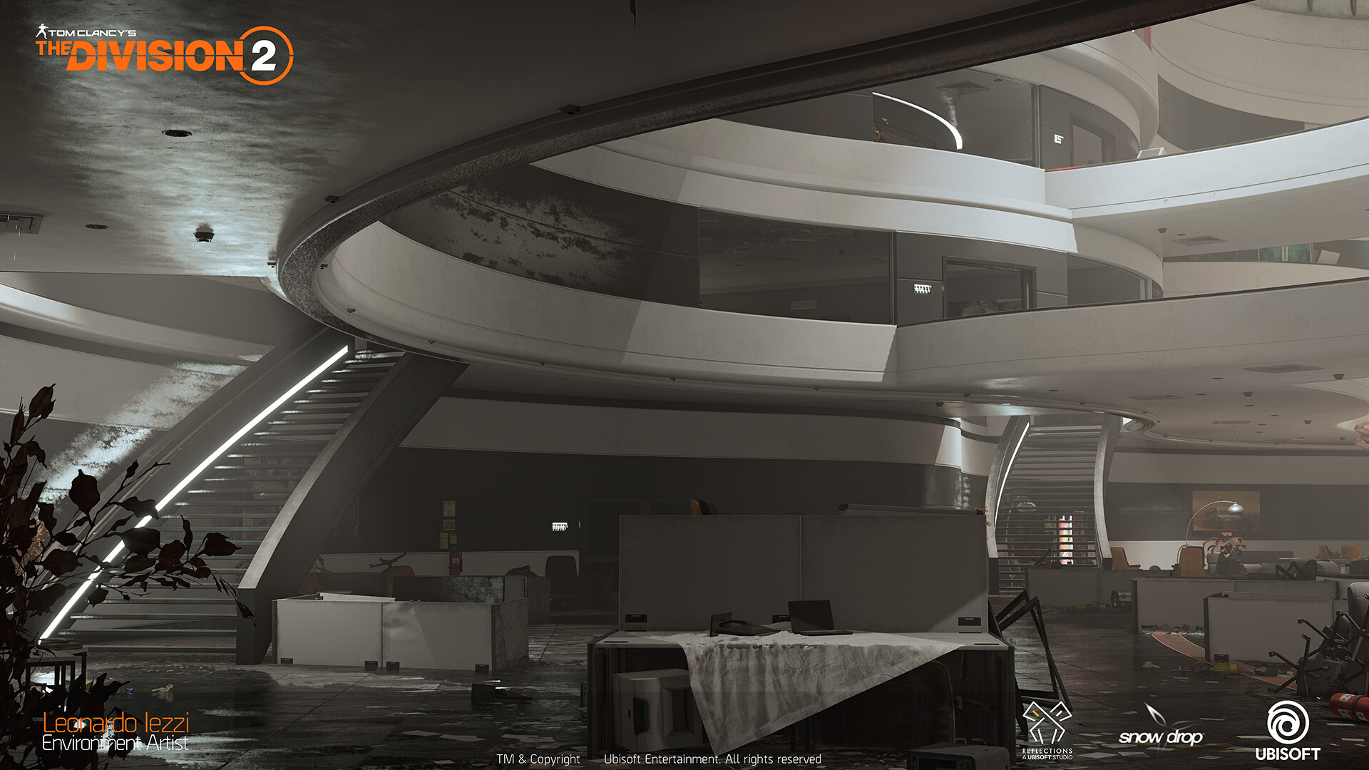 Leonardo iezzi leonardo iezzi the division 2 environment art 02 atrium 012