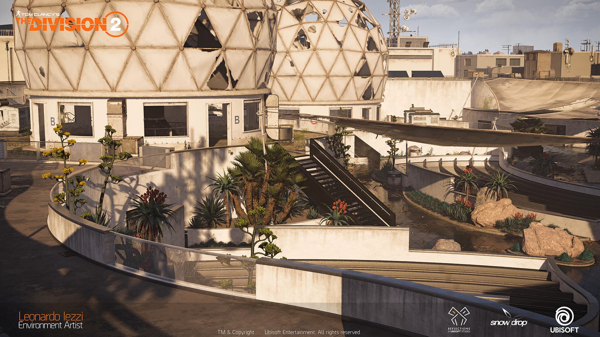 Leonardo iezzi leonardo iezzi the division 2 environment art 04 rooftop 005