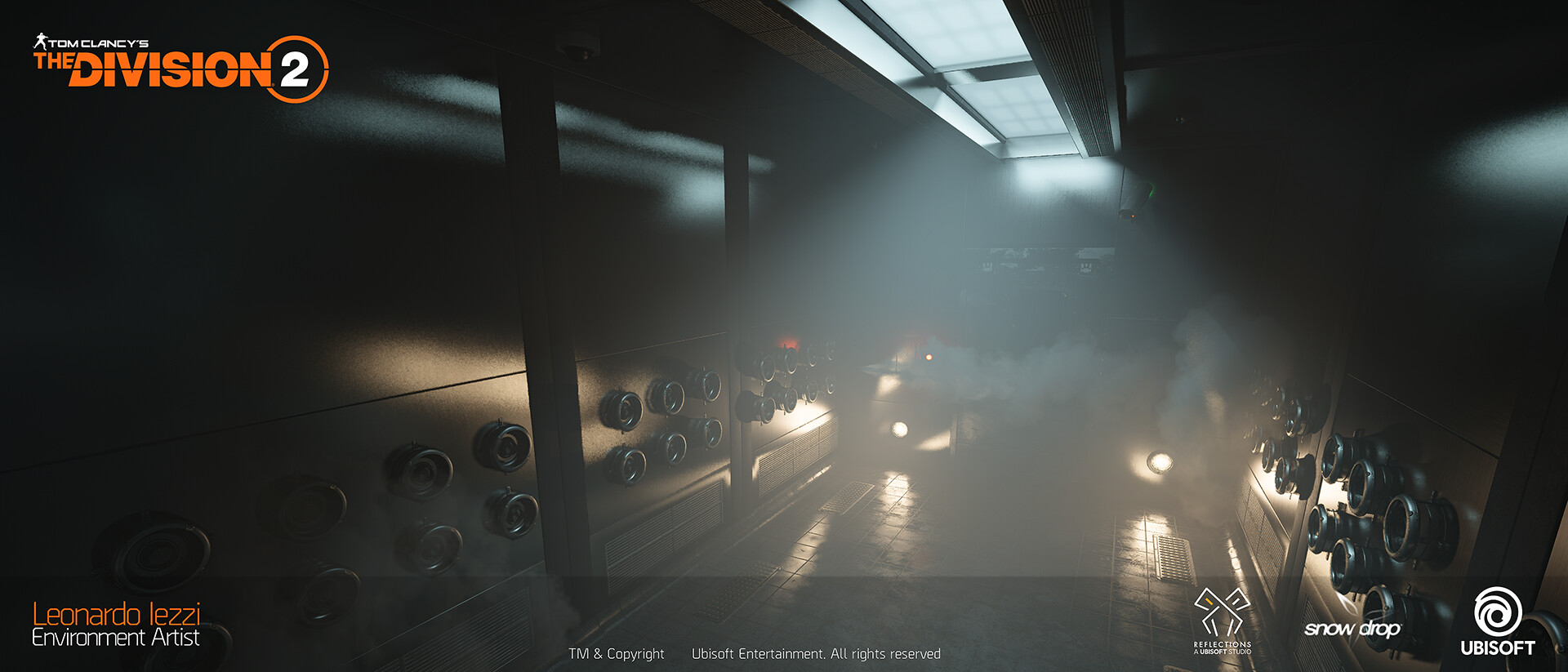 Leonardo iezzi leonardo iezzi the division 2 environment art 07 cleaningroom 002 wide