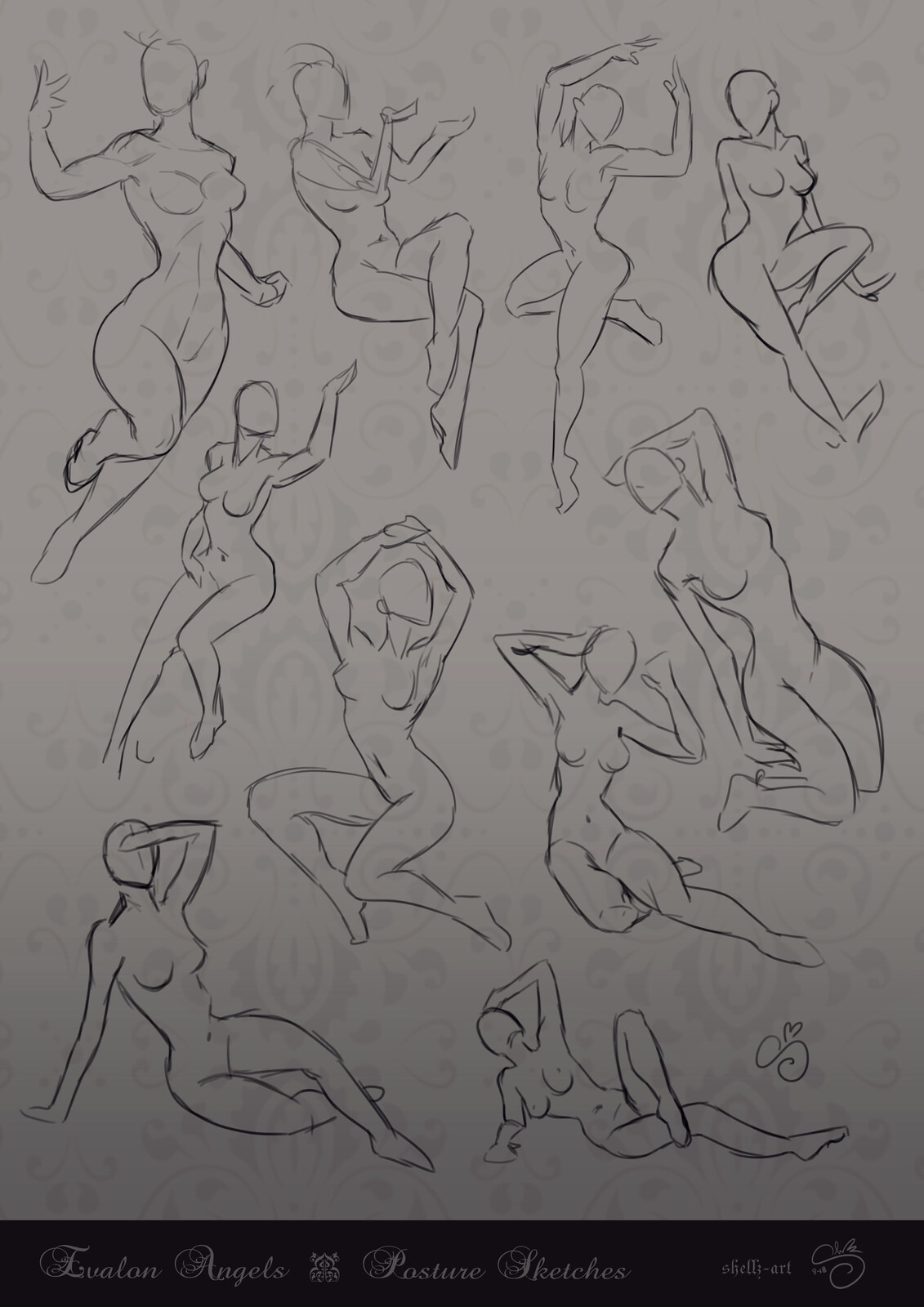 Figure Drawing | Evalon Angel