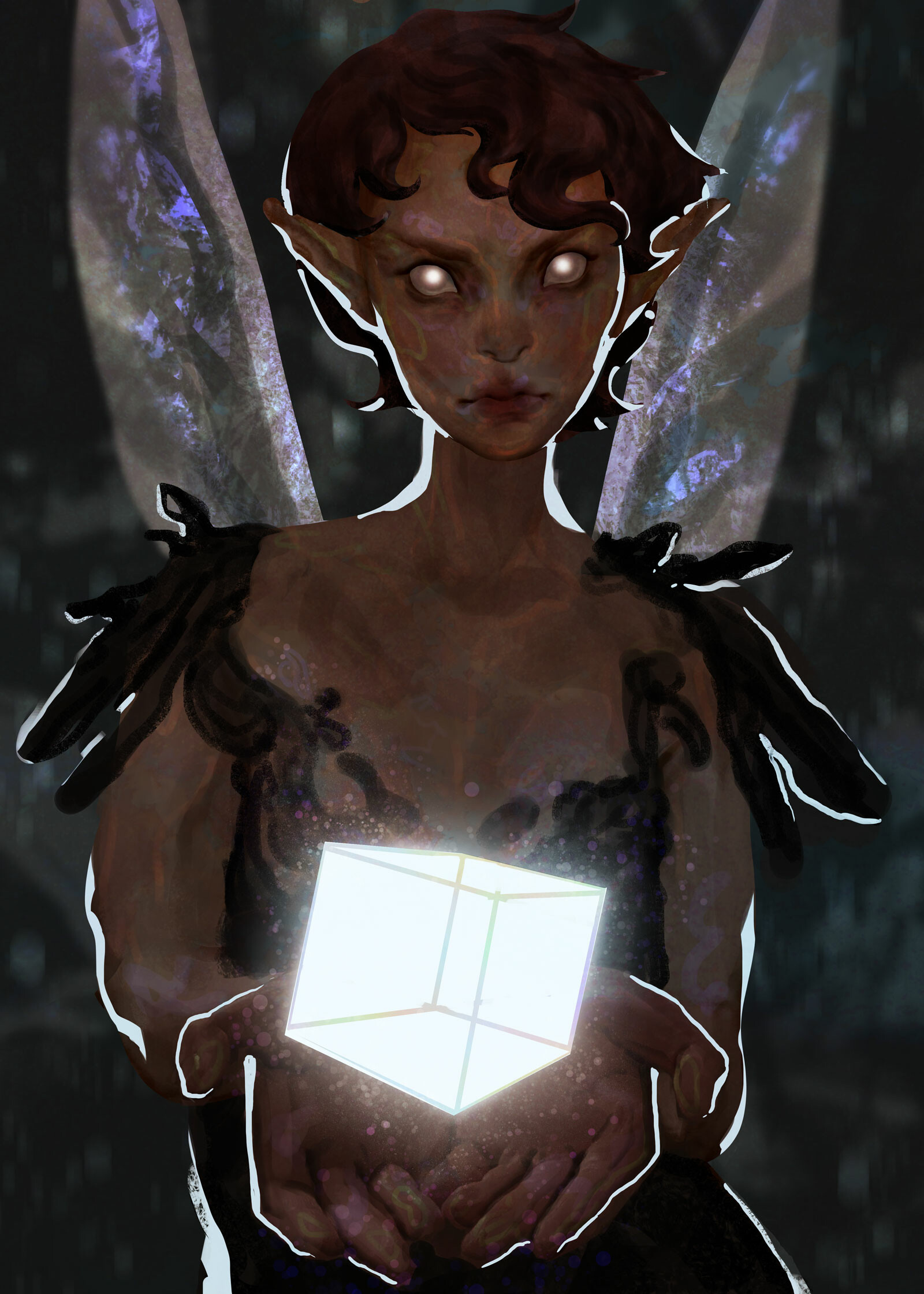 Madeline buanno lightbox fairy finished