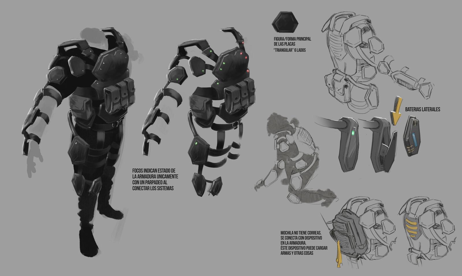 Exoskeleton concept 1