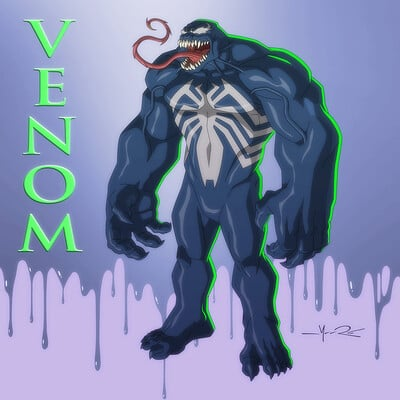 Jerome moore monster venom blur lr