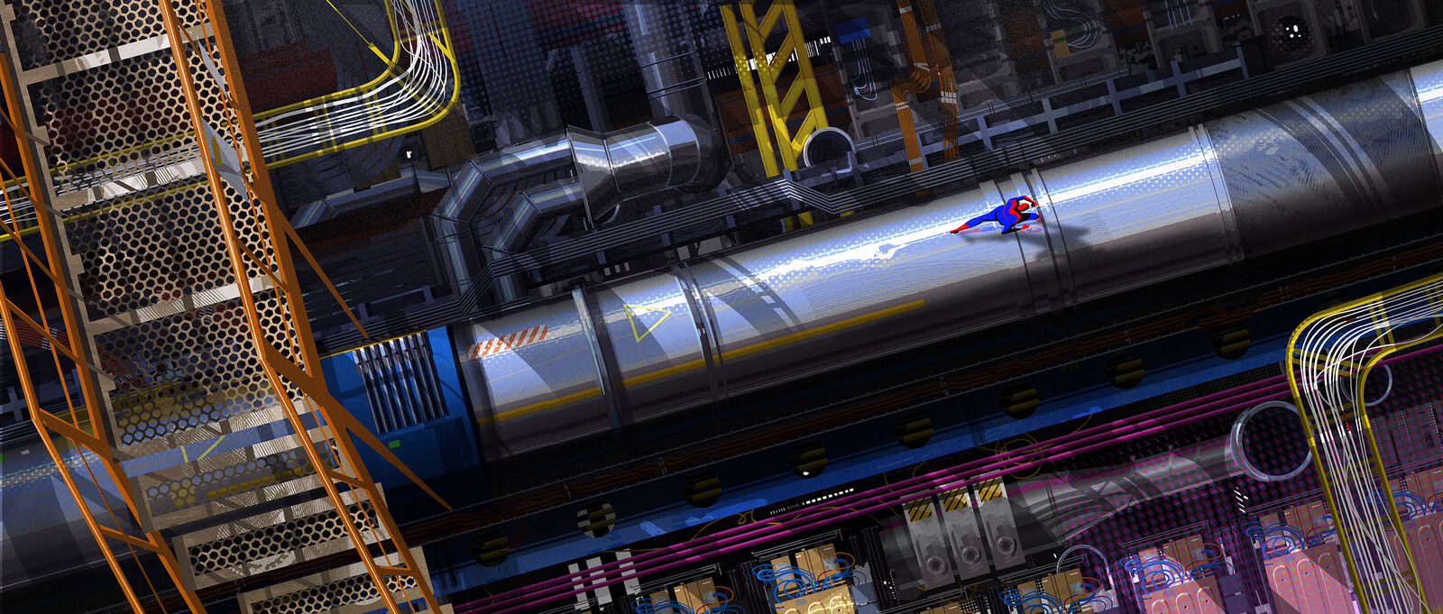 Spider-Man: Into the Spider-verse Collider
