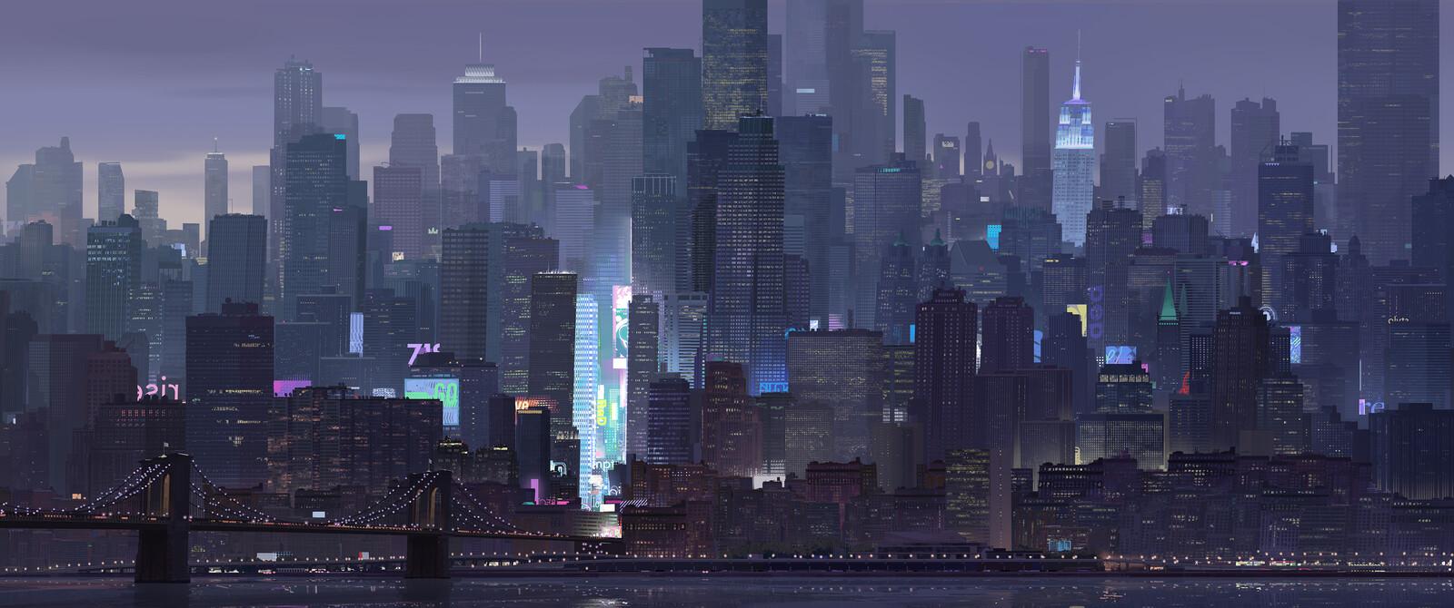 Spider-Man: Into the Spider-verse Manhattan