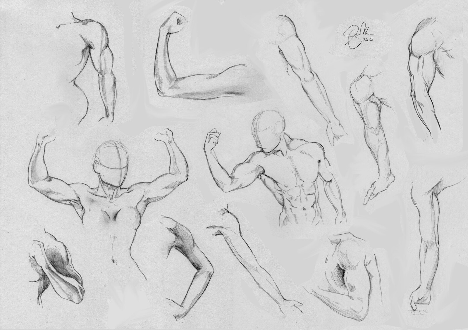 Figure Drawing | Arms