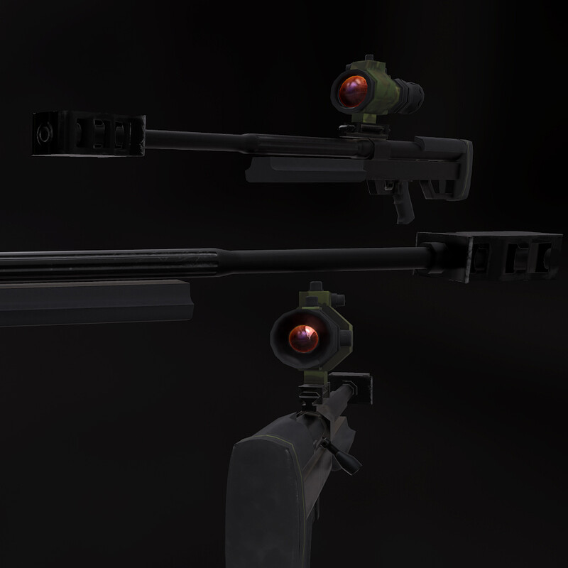 Steyr HS-50 Rifle
