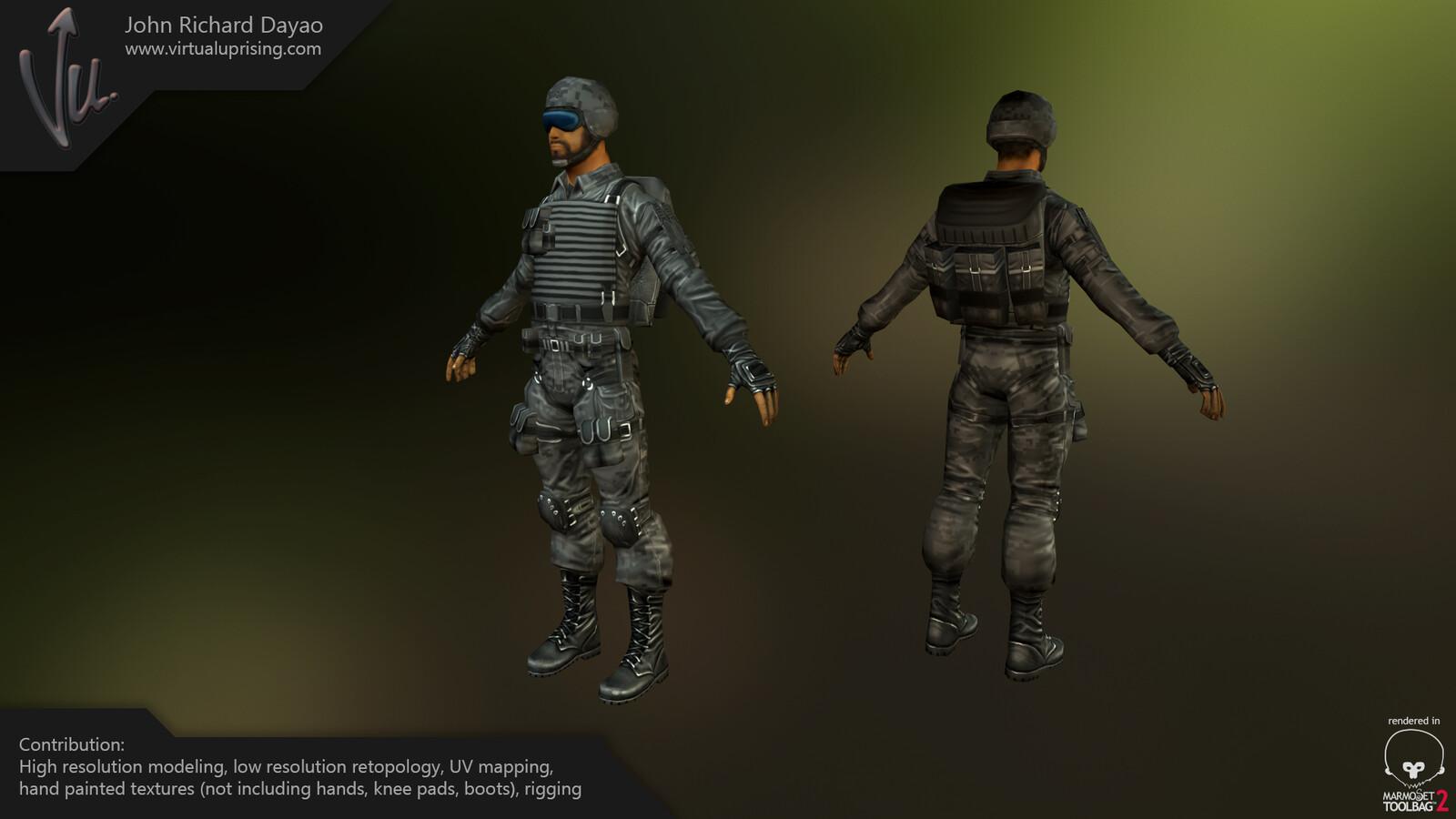 Kuma Games Tiger Unit Cyclops