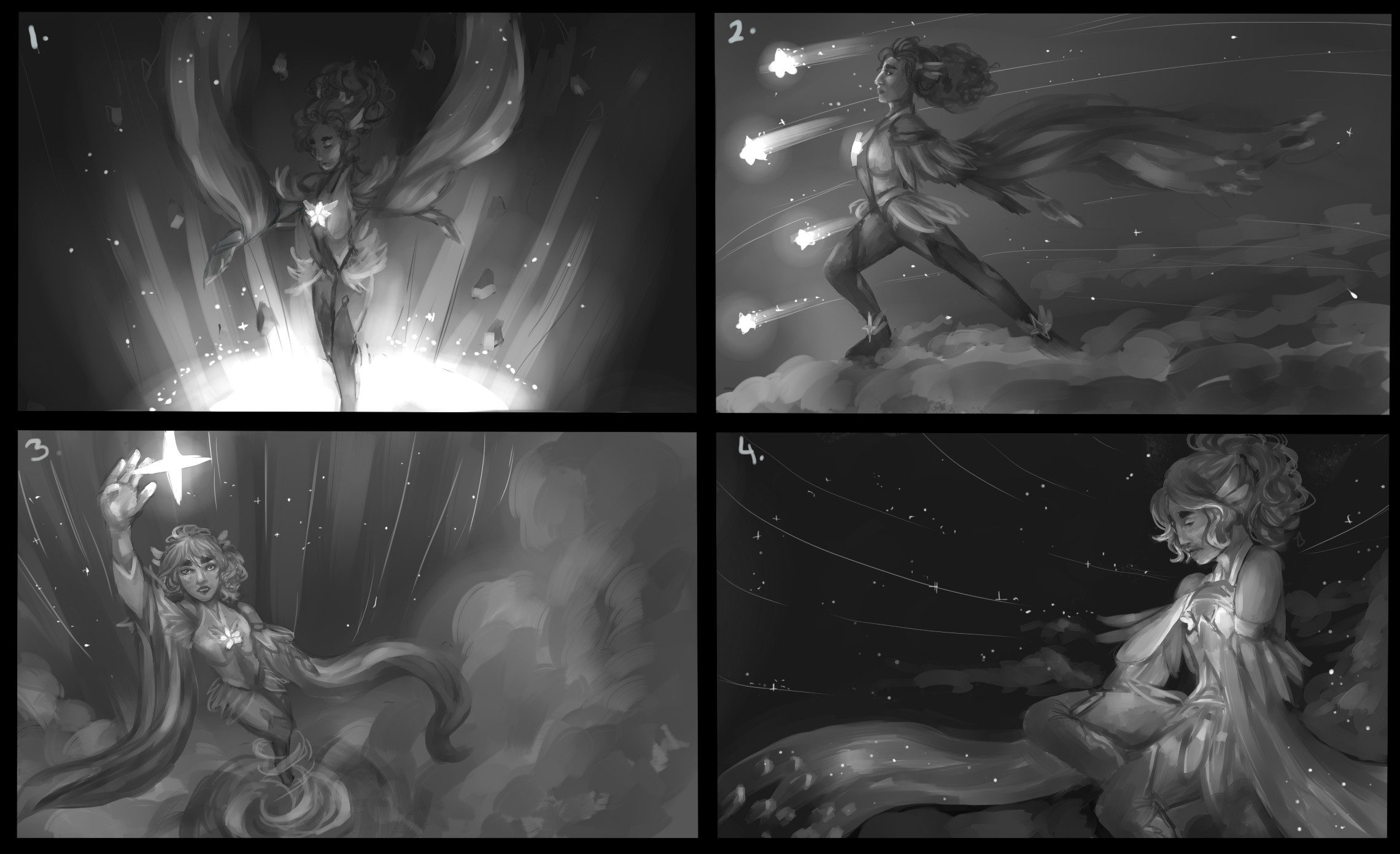 Splash art concepts