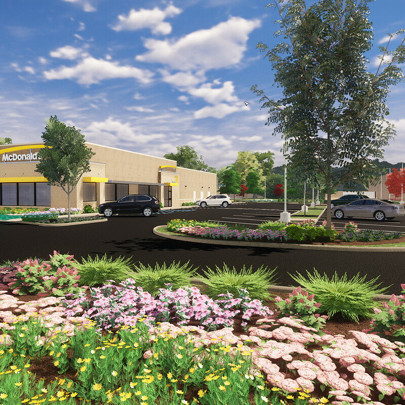 ArchViz McDonald's Fairfield, OH