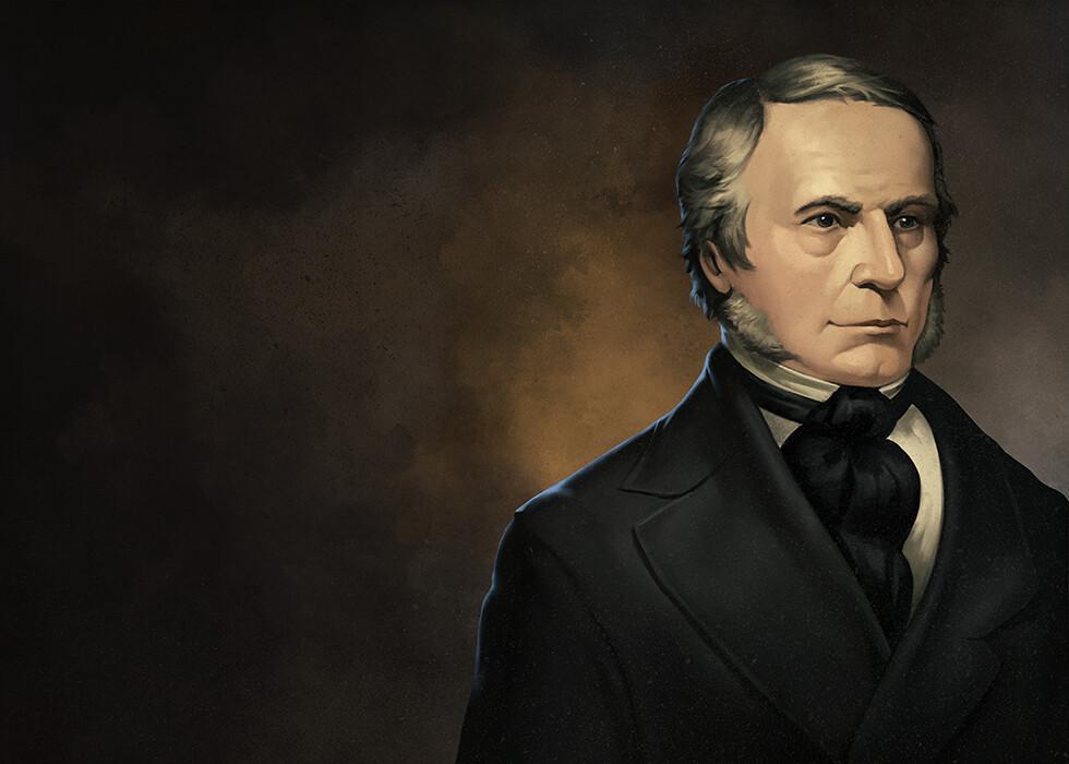 Joseph Locke Portrait