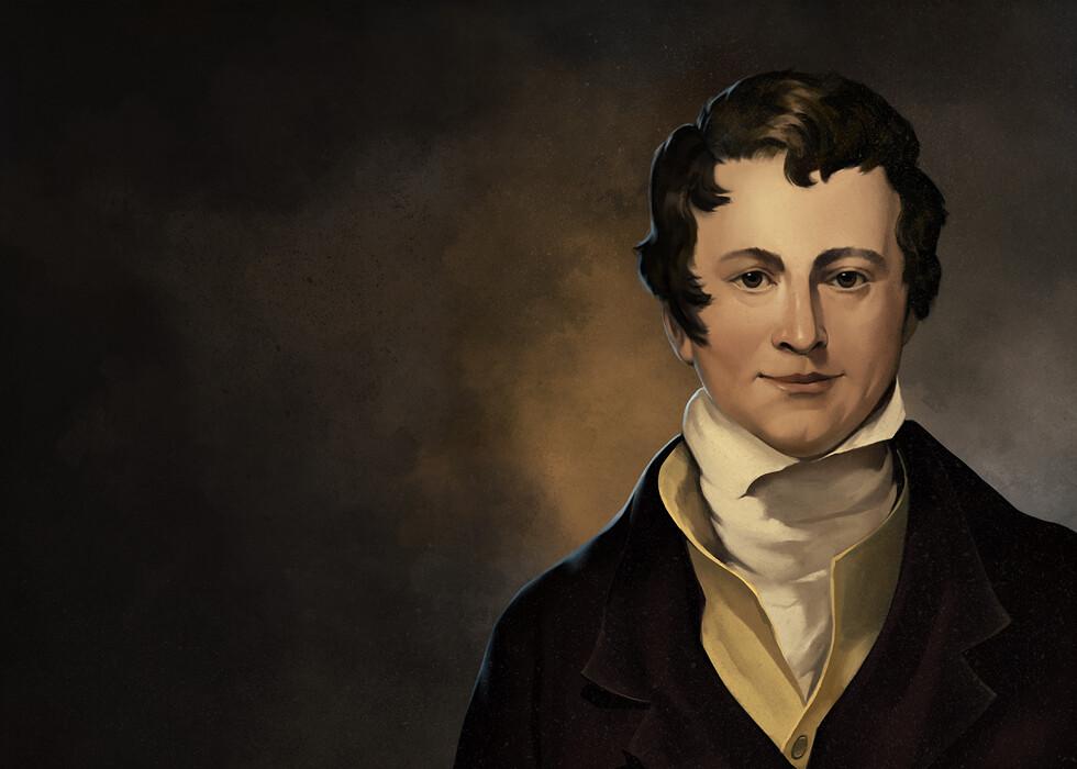 Humphrey Davy Portrait