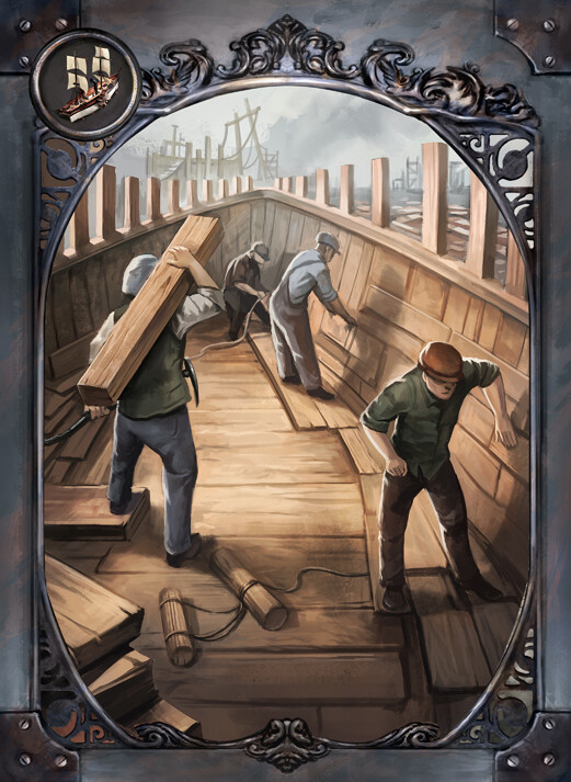 Damien mammoliti cards industry shipyard alt