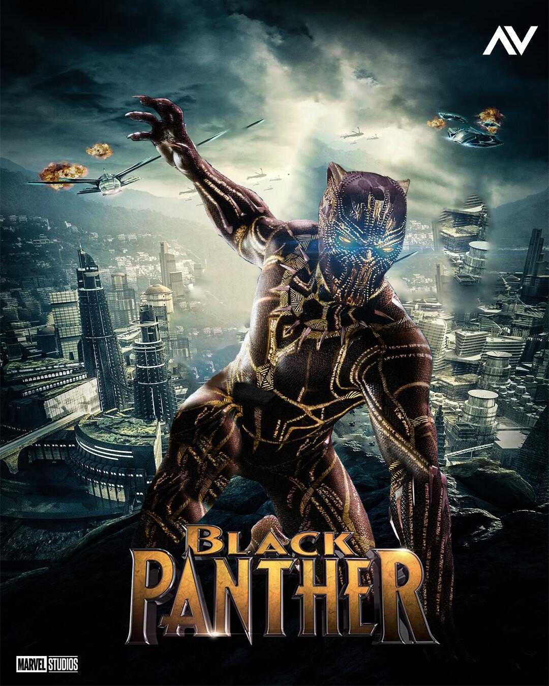 Artstation Vibranium X Killmonger Golden Jaguar Blackpanther Vindz Henchman