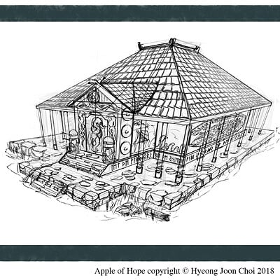 Apple Of Hope - Production Design: Viking Temple