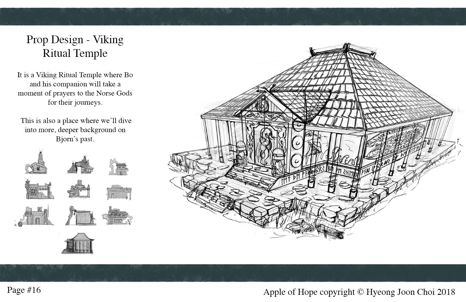 Production Design: Viking Temple