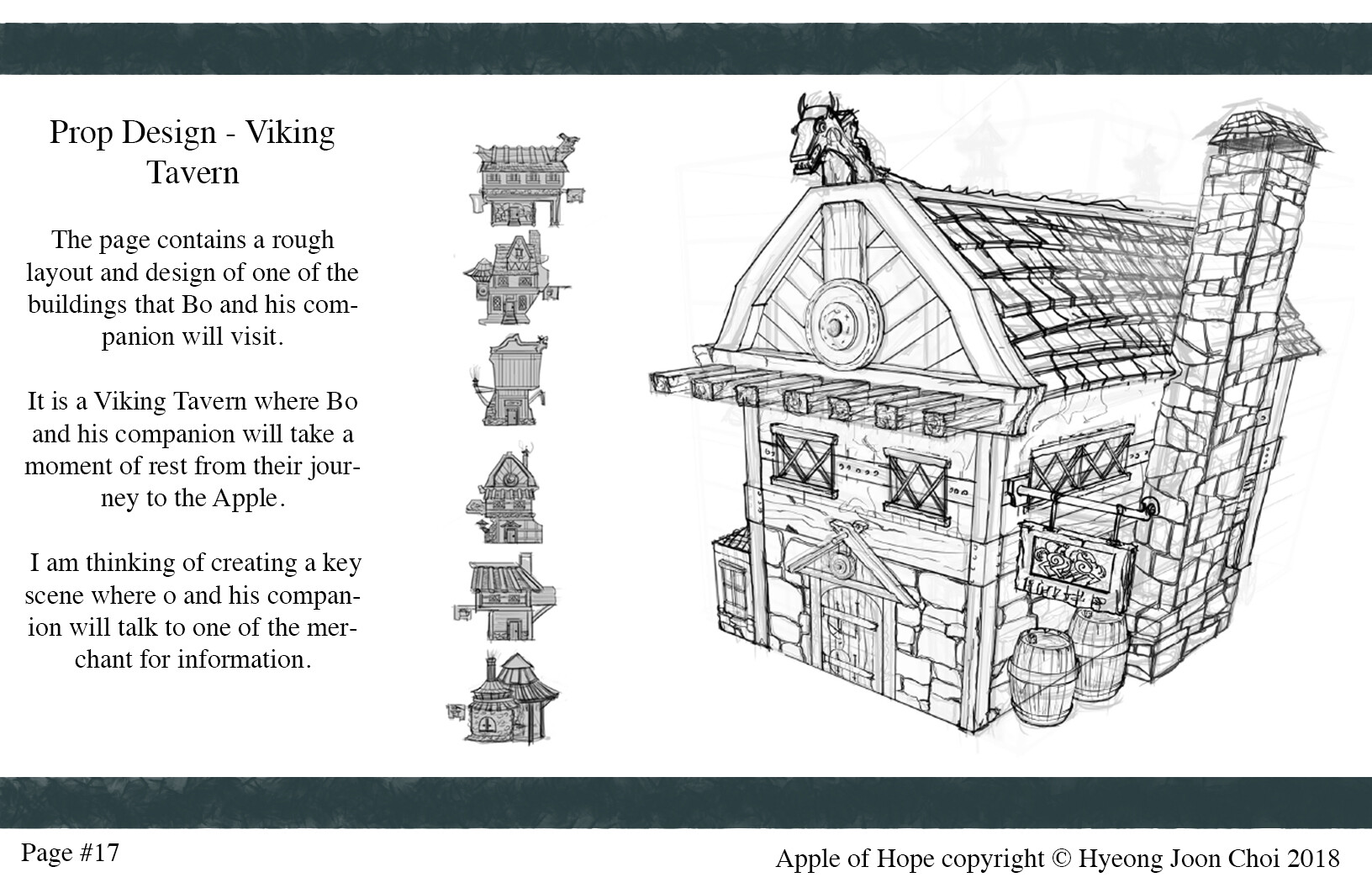 Production Design: Viking Tavern