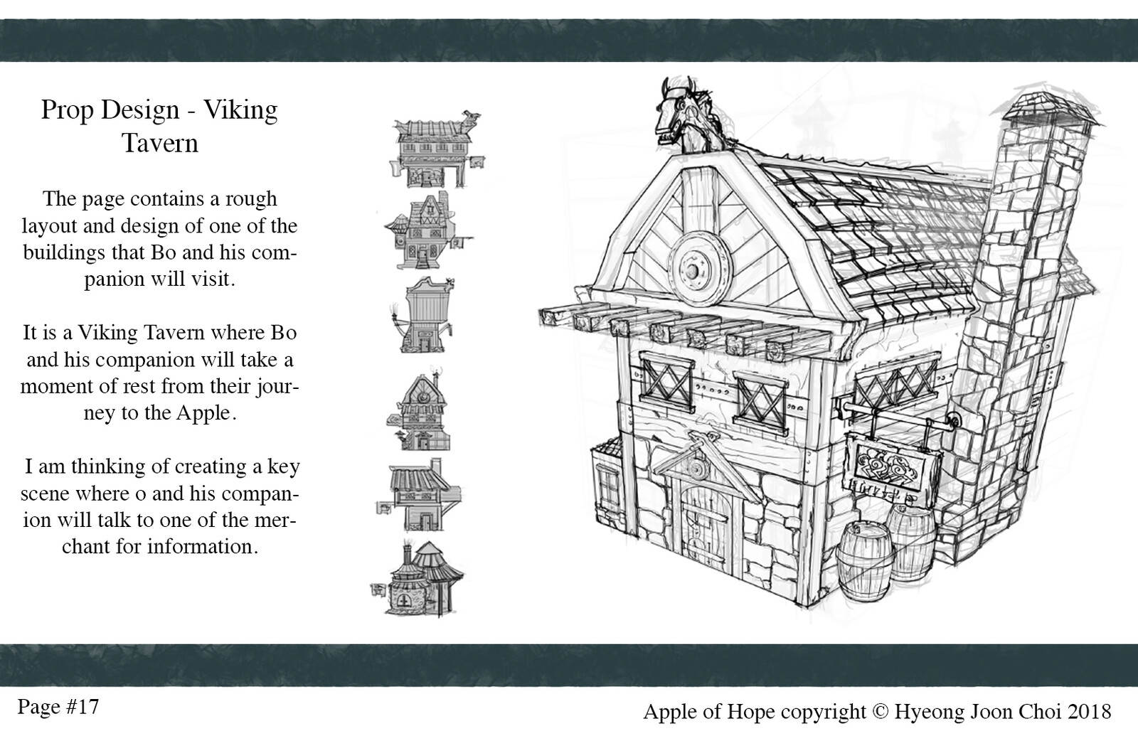 Apple of Hope - Production Design: Viking Tavern