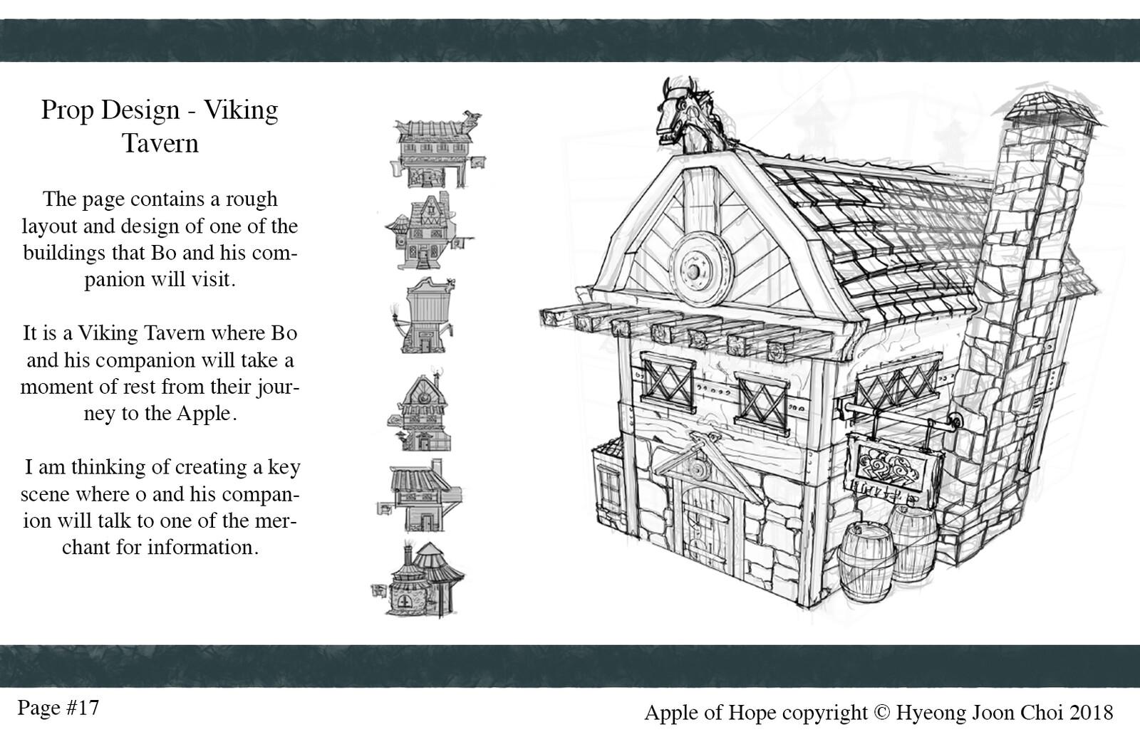 Production Design: Viking Tavern