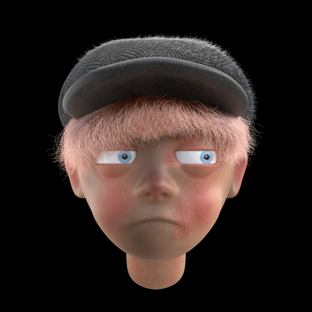 CHIMNEY SWEEPER / ZBRUSH PORTRAIT